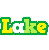 Lake soccer logo