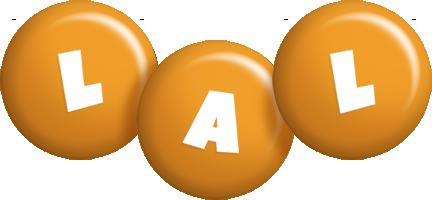 Lal candy-orange logo