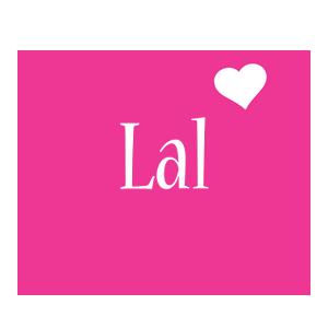 Lal love-heart logo