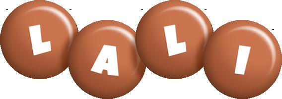 Lali candy-brown logo