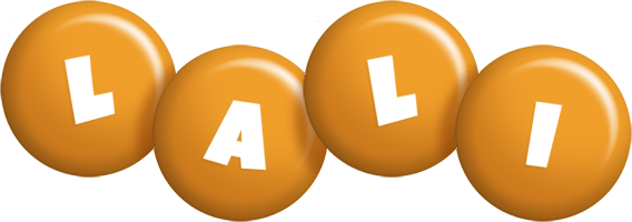 Lali candy-orange logo