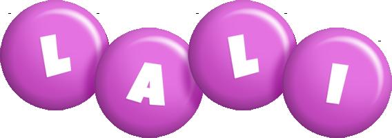Lali candy-purple logo