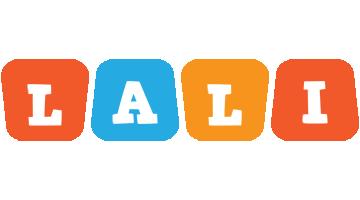 Lali comics logo