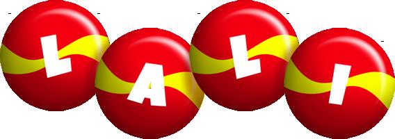 Lali spain logo