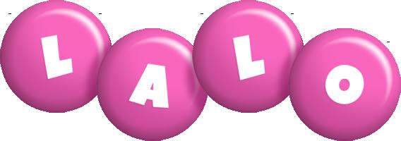 Lalo candy-pink logo