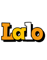 Lalo cartoon logo