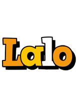 Lalo cartoon logo