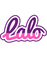 Lalo cheerful logo