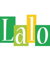 Lalo lemonade logo