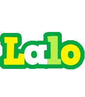 Lalo soccer logo