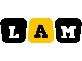 Lam boots logo