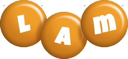 Lam candy-orange logo