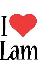 Lam i-love logo