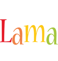 Lama birthday logo