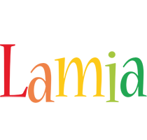 Lamia birthday logo