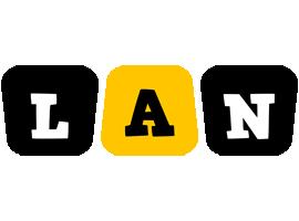 Lan boots logo