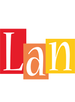 Lan colors logo