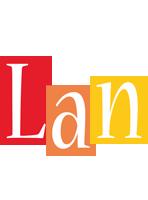 Lan colors logo