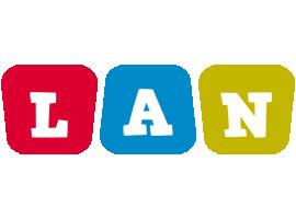 Lan daycare logo