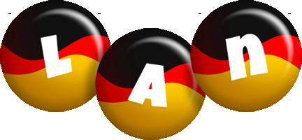 Lan german logo