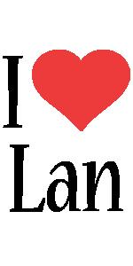 Lan i-love logo