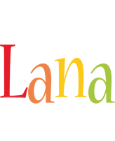 Lana birthday logo