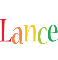 Lance birthday logo