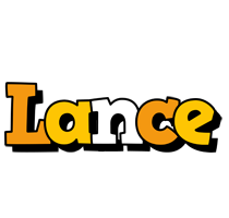 Lance cartoon logo