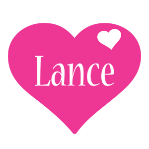 Lance love-heart logo