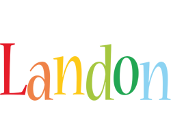 Landon birthday logo