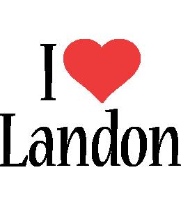 Landon i-love logo