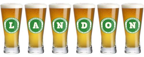 Landon lager logo