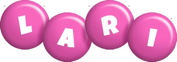Lari candy-pink logo