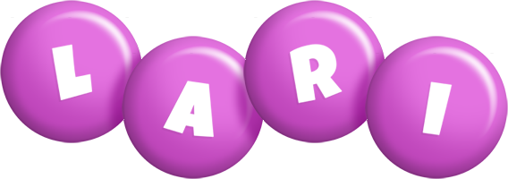Lari candy-purple logo