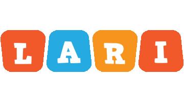 Lari comics logo