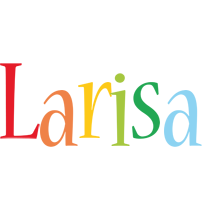Larisa birthday logo