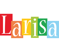 Larisa colors logo