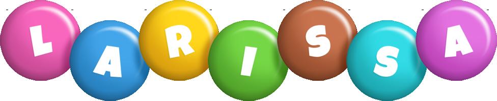 Larissa candy logo