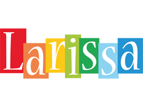 Larissa colors logo