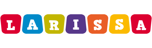 Larissa daycare logo