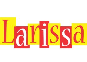 Larissa errors logo