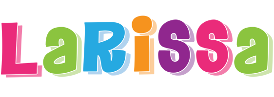Larissa friday logo