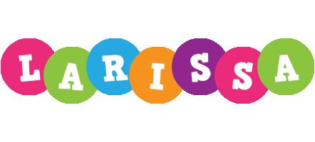 Larissa friends logo