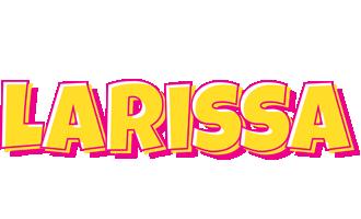Larissa kaboom logo