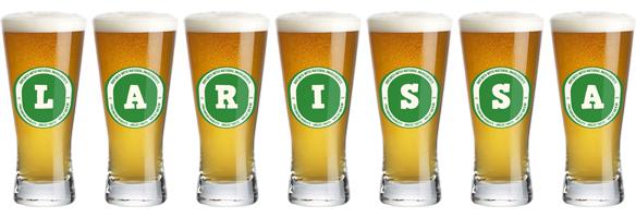 Larissa lager logo