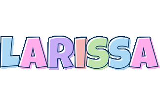Larissa pastel logo