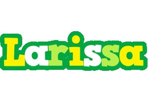 Larissa soccer logo