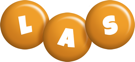 Las candy-orange logo