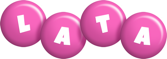 Lata candy-pink logo