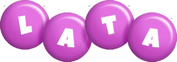 Lata candy-purple logo